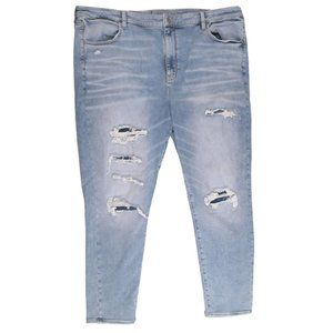 AE American Eagle Hi-Rise Patched Jegging Plus 24